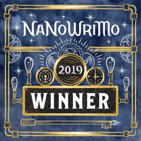 NaNoWriMo Win 2019