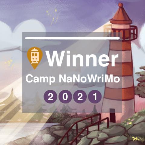 Camp Nano Win July 2021