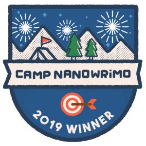 NaNoWriMo Win Camp Nano 2019