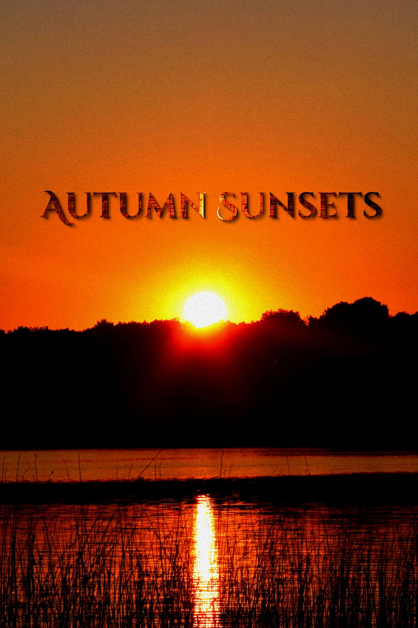 Autumn Sunsets Journal